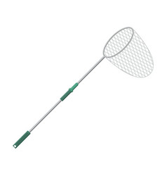 landing net for fishing vector image