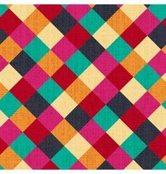 seamless geometric rhombus background vector image vector image