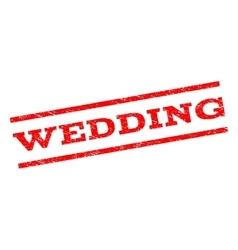 Wedding watermark stamp vector