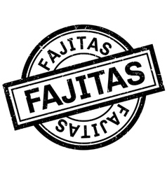 Fajitas rubber stamp vector