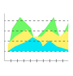Layer chart vector