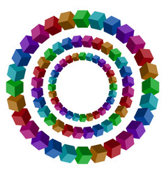 circles vector image