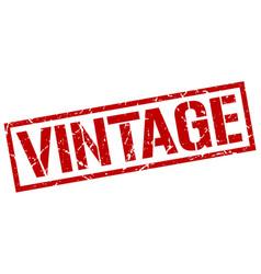 vintage stamp vector image vector image