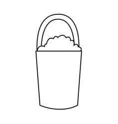 Gardening tools icon image vector