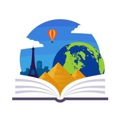 Geography Emblem vector image