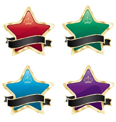Star labels vector