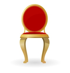 Retro chair vector