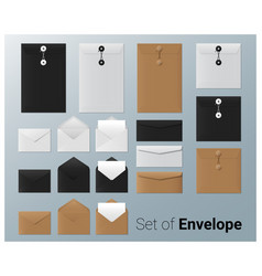 Set of realistic envelope vector