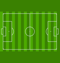 Soccer field or football field eps10 vector