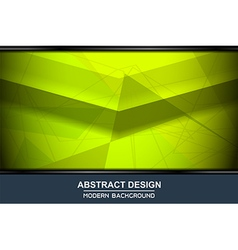 Abstract green backgrounds design vector