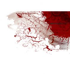 abstract blood vector image