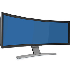 monitor vector image