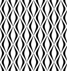 Black and white seamless pattern modern stylish vector