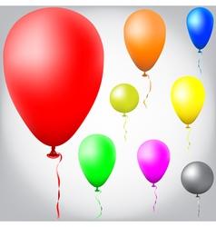 ballon0129042015set vector image