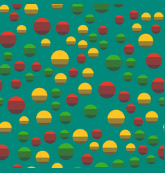 Colored circle seamless pattern shape art vector