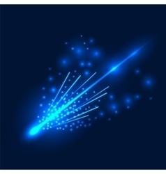 Falling Comet vector image