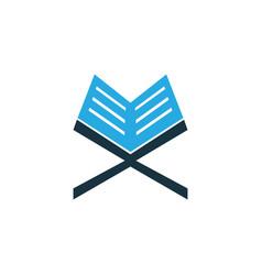 Koran colorful icon symbol premium quality vector