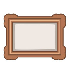 picture icon cartoon style vector image