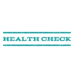 Health check watermark stamp vector
