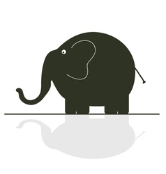 Elephant color vector