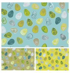 eggs patterns vector image