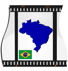 Film shots brazil vector