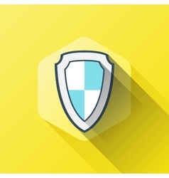 Simple of shield or security icon in vector