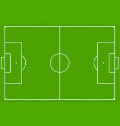 Soccer field or football field eps10 vector