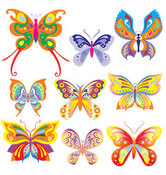 fabulous butterfly vector image