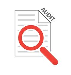 process audit vector image