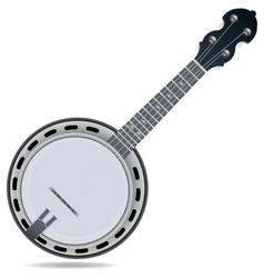 Banjo fiddle instrument vector