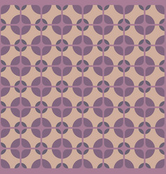vintage textile vector image