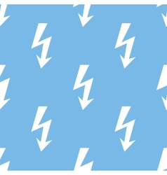 Lightning seamless pattern vector
