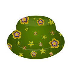 isolated party hat vector image