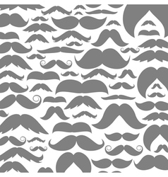 Moustaches a background2 vector