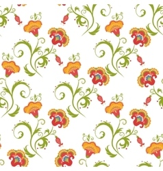 Traditional Asian seamless pattern vector image vector image