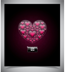Abstract valentine days background vector image