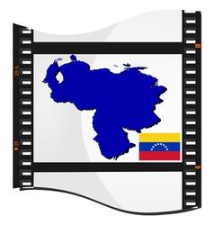 film shots venezuela vector image vector image