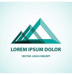 logo concept vector image vector image