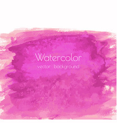 magenta pink rose marble watercolor vector image
