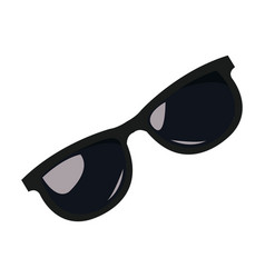 sunglasses accessorie fashion element image vector image