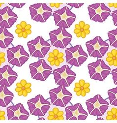 A seamless wallpaper design vector image