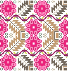 Inca iconography background vector