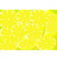 Juicy lemons vector