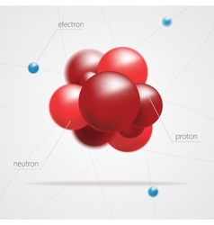 Molecules structure vector image