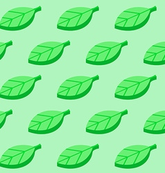 Background from green leaves vector