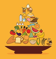 Food digital design vector