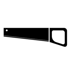 handsaw the black color icon vector image vector image