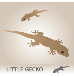 Little gecko eps10 vector