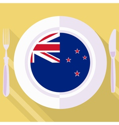 Kitchen of new zealand vector
